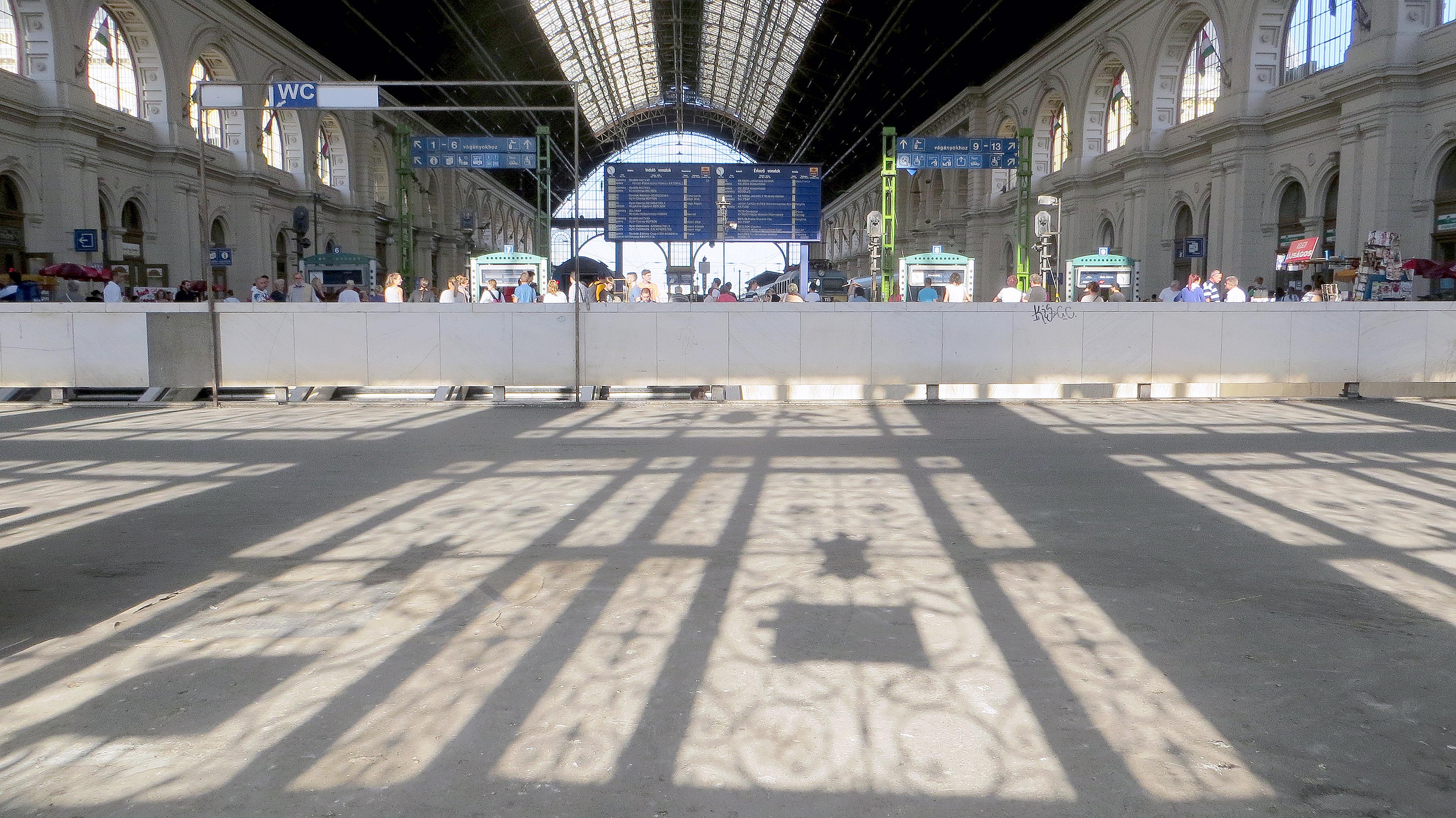 Trainstationspotting - Keleti Palyaudvar train station, Budapest, Hungary, 2013