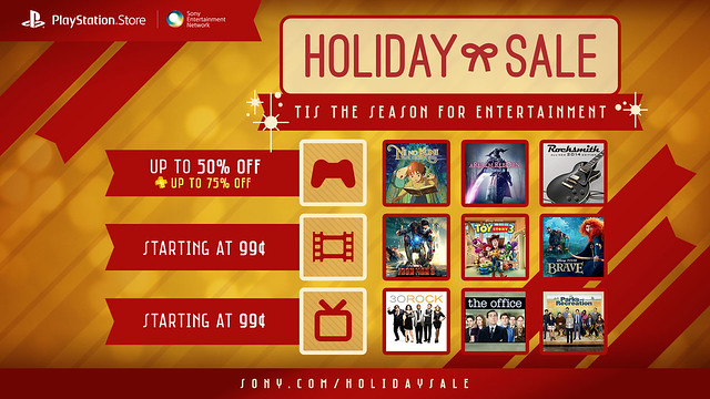 Store - Holiday Sale