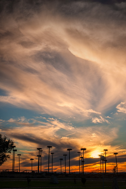 Sunset – Atardecer en Cáceres (Spain)