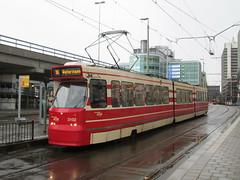 HTM GTL8 tram no. 3102, near Den Haag CS
