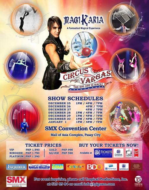 Circus Vargas Magikaria Poster TPIrsz