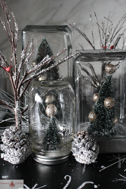 Homemade Snow Globes