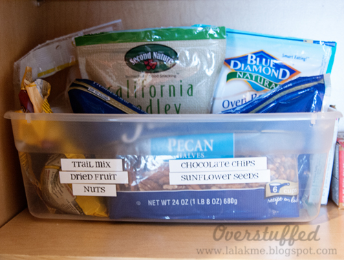 Easy and quick solutions for an organized pantry