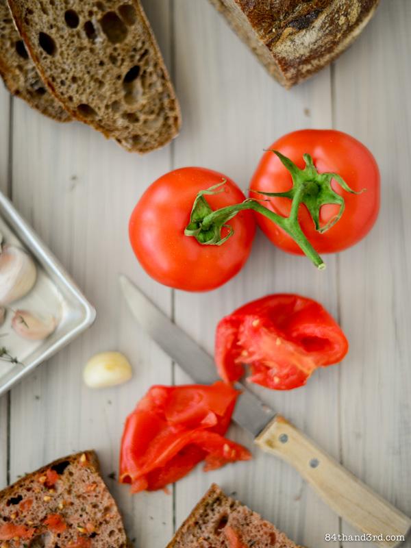 Pan Con Tomate - Tomato Bread