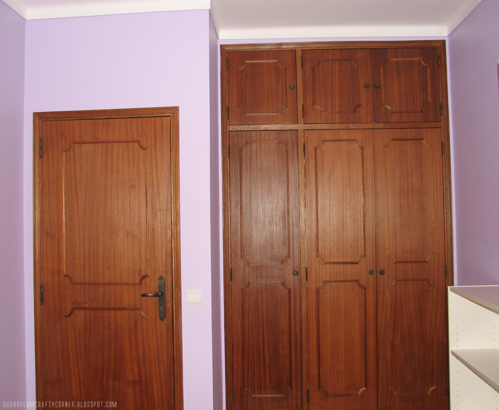 Craft Room Door & Wall Closet