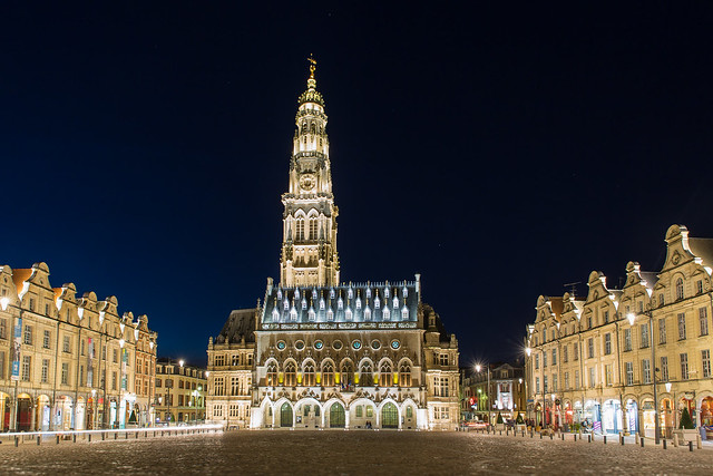 Arras, la nuit. | Explore #11 24.01.2014