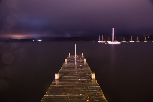 Snakeskin (Windermere Rain Long Exposure), Lake District by flatworldsedge