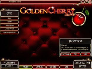 Golden Cherry Casino Lobby