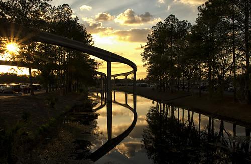 sunset florida disney monorail ecpot pentaxk5