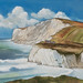 Freshwater Bay Watercolour Landscape by s0ulsurfing
