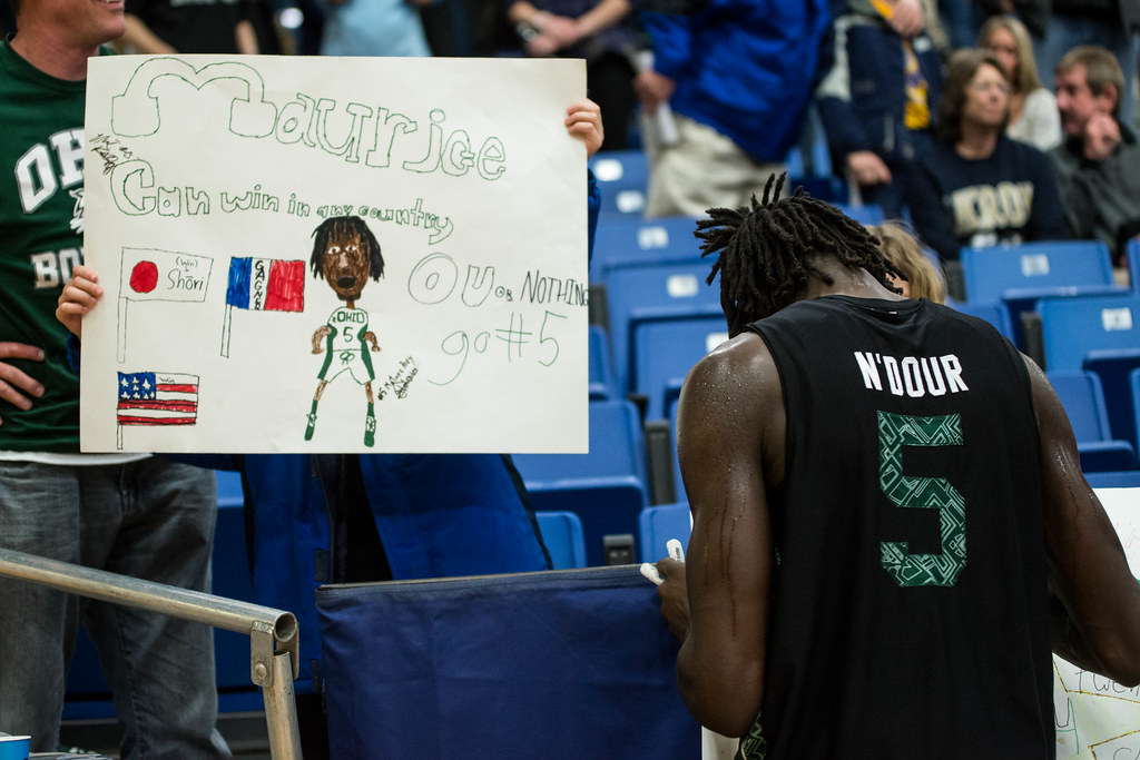 Ohio Bobcats Forward Maurice Ndour
