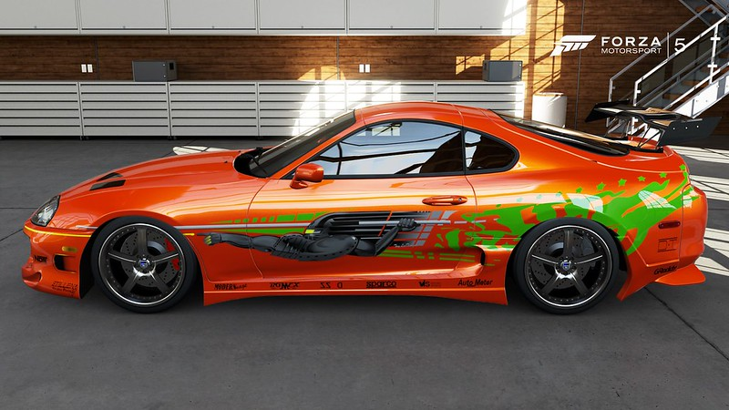 Turn 10 Quality Orange Toyota Supra Fast And Furious Race Paint Booth Forza Motorsport Forums