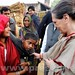Sonia Gandhi interacts with students at Raebareli 06