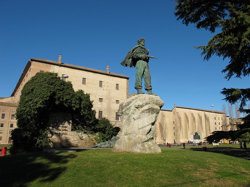 Monumento al Partigiano, Parma 4 febbraio 2013