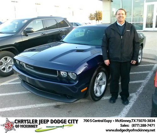 Thank you to Joe Grantski on your new 2014 #Dodge #Challenger from David Walls and everyone at Dodge City of McKinney! #NewCar by Dodge City McKinney Texas