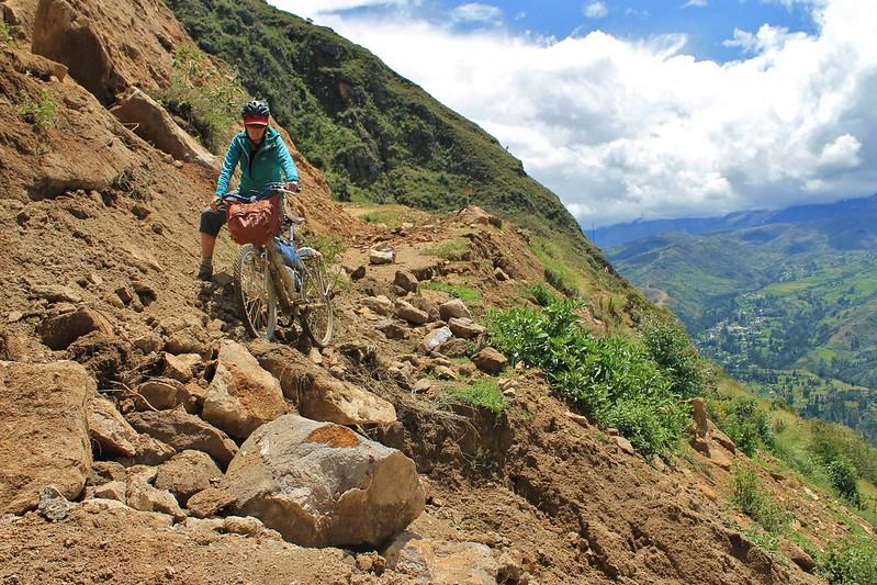 A Nepali road in Peru's Cordillera Negra