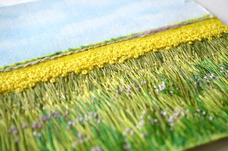 detail - Canola & Alfalfa, 2014 (sold)
