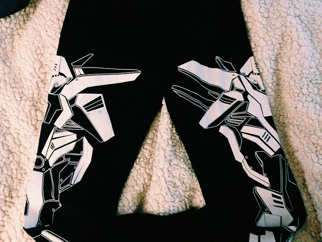 Gundam leggings 2