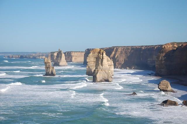 Los doce apóstoles en la Great Ocean Road