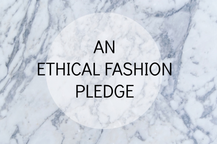 chambray and curls making an ethical fashion pledge