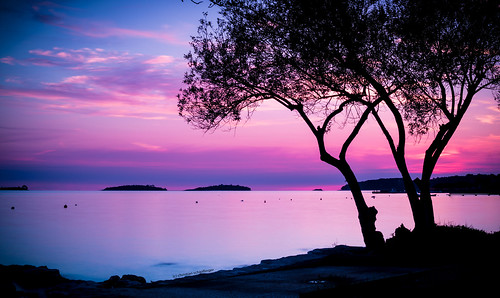 Sunset in Rovinj-Croatia
