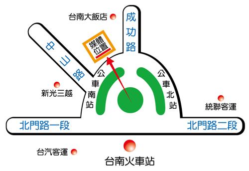 台南市中山路二段HTN36map