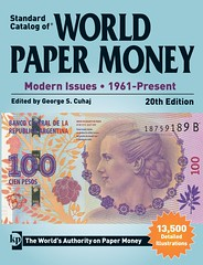 World Paper Money Modern Issues 2015 edition