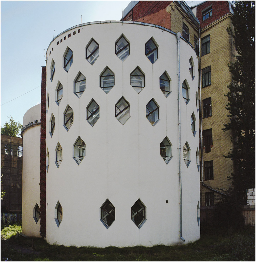 Melnikov house 1927-31, Moscow, Russia. © Richard Pare, 2012