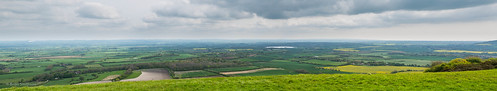 england panorama clouds rural landscape countryside woods europe horizon overcast location fields patchwork hazy berwick eastsussex stitched southdowns bopeep arlingtonreservoir seeformiles alciston gx7