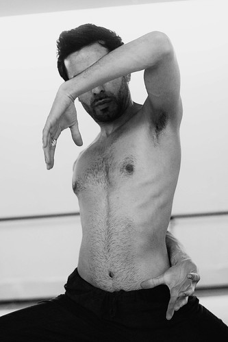 Aakash Odedra in action.