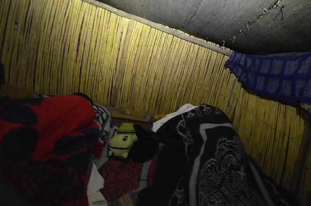 Dormir en jaima en el desierto