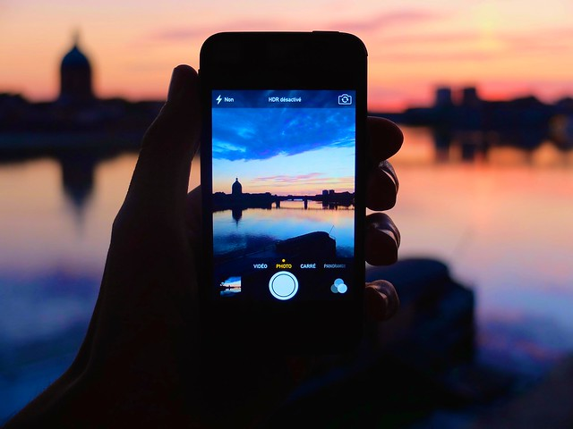 Photo:Toulouse Sunrise by iPhone By:maximeraphael