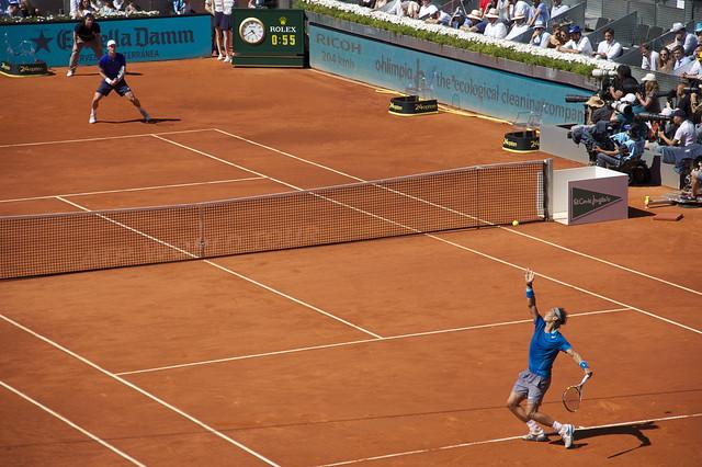 Tomas Berdych y Rafael Nadal