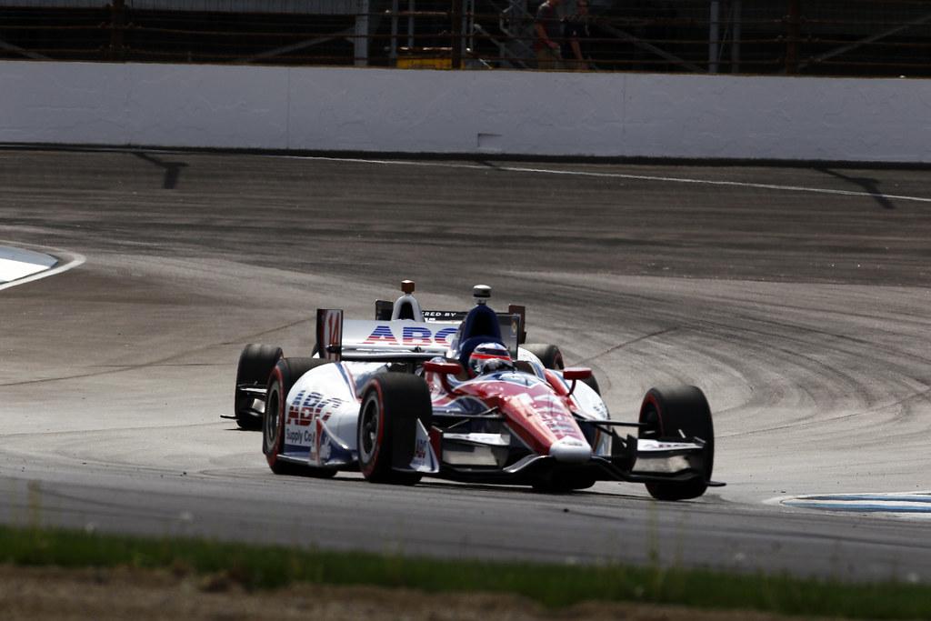 Takuma Sato at the GP of Indy