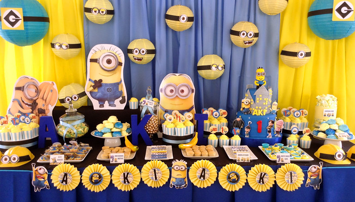 Minions Birthday Party Theme