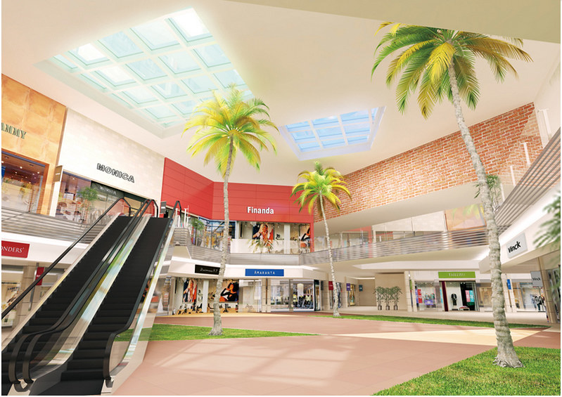 Mitsui Outlet Park KLIA interior impression