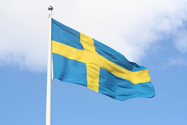 Bandera sueca. © Paco Bellido, 2007