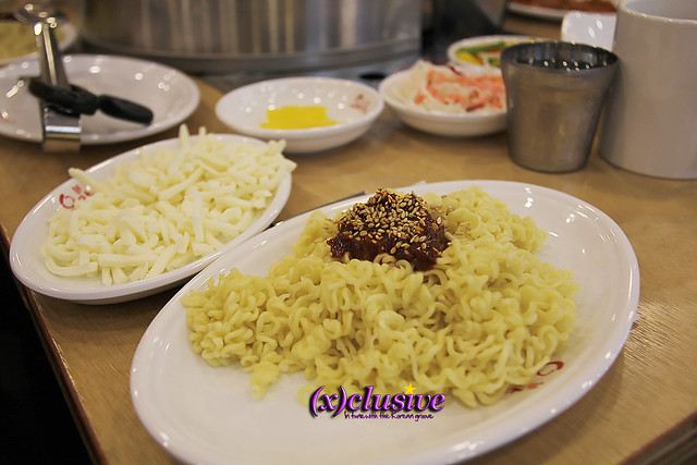 Ramyeon noodles Sticky noodles Cheese Yoogane Singapore