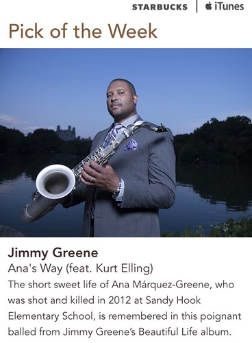 Starbucks iTunes Pick of the Week - Jimmy Greene - Ana's Way (feat. Kurt Elling)