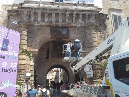 A breve anche i lavori all'Arco Marchesale