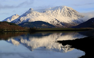 The Pap of Glencoe and Loch Leven