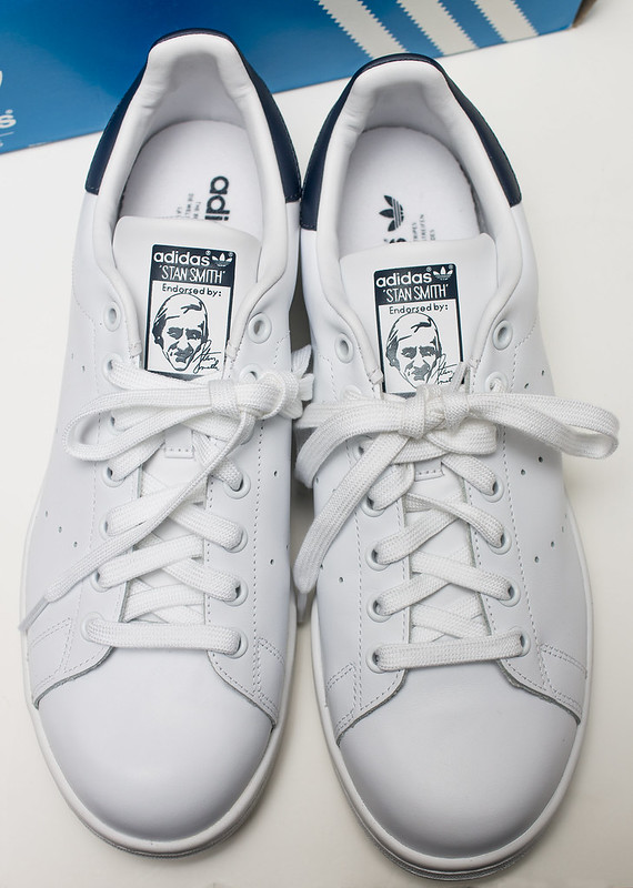 Wellmade Adidas Stan Smith Shoes White