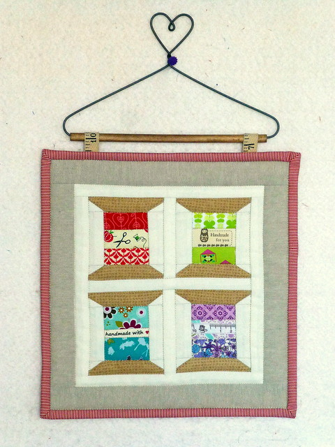 "10"" mini spools quilt"