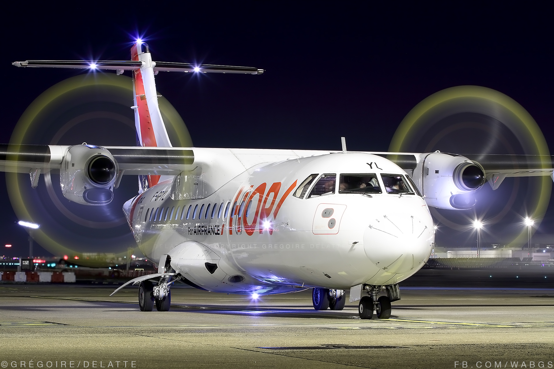 ORY | ATR 42-500 | HOP! for Air France | F-GPYL