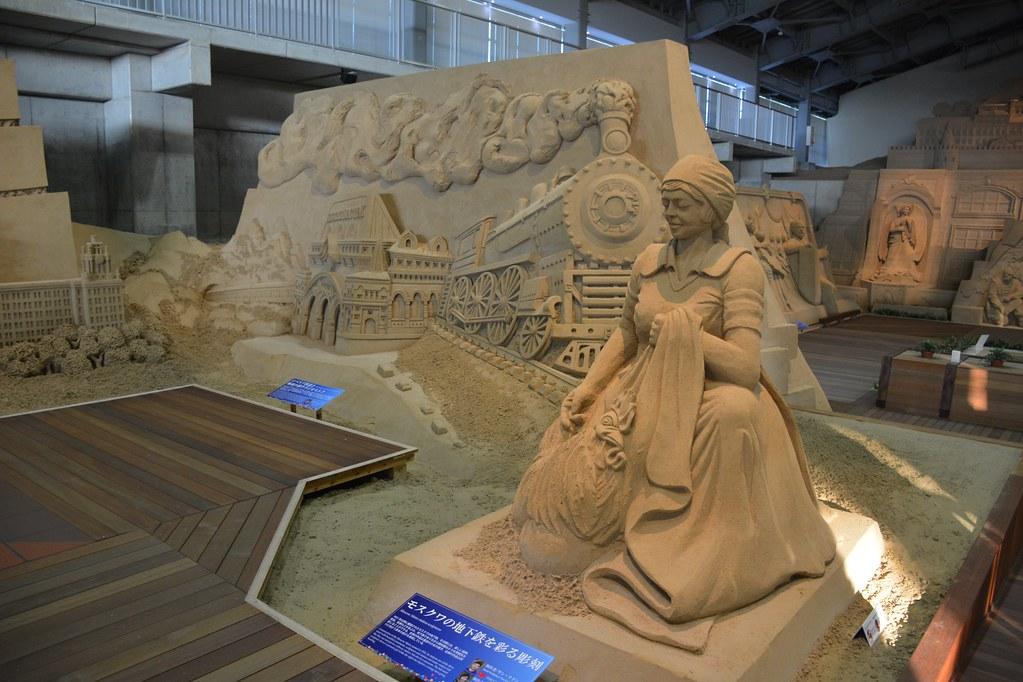 砂の美術館:ロシア編