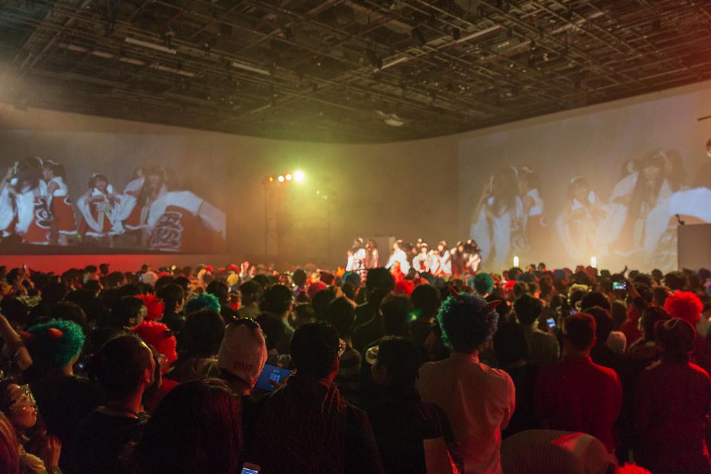 虹のコンキスタドールのライブ
