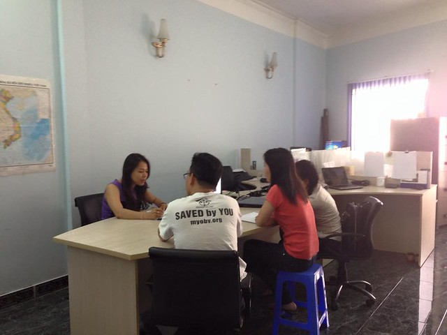 Daily Activities - Meeting about prevention in OBV Vietnam