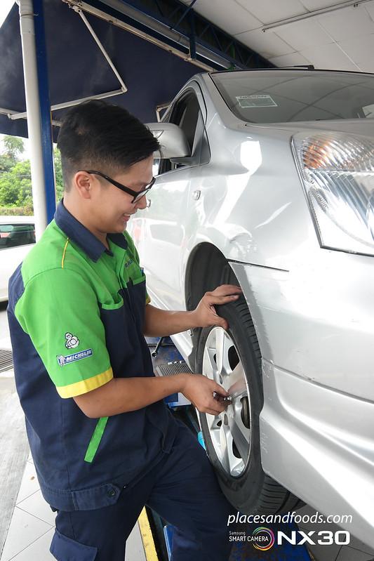 michelin tyreplus change tyre