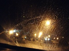 Frozen windshield 凍結フロントガラス