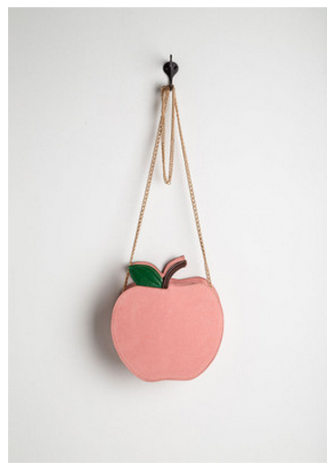 peach fruit purse